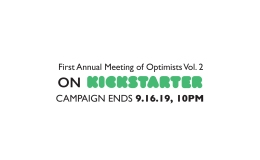 Deadline Day: First Annual Meeting of Optimists Vol. 2