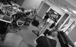 Photo Gallery: June IND records 'Come to Hand' at REC RoomRecording
