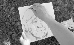 Today's memory stash: Stacy Bogan creates 'TroubleTomorrow'